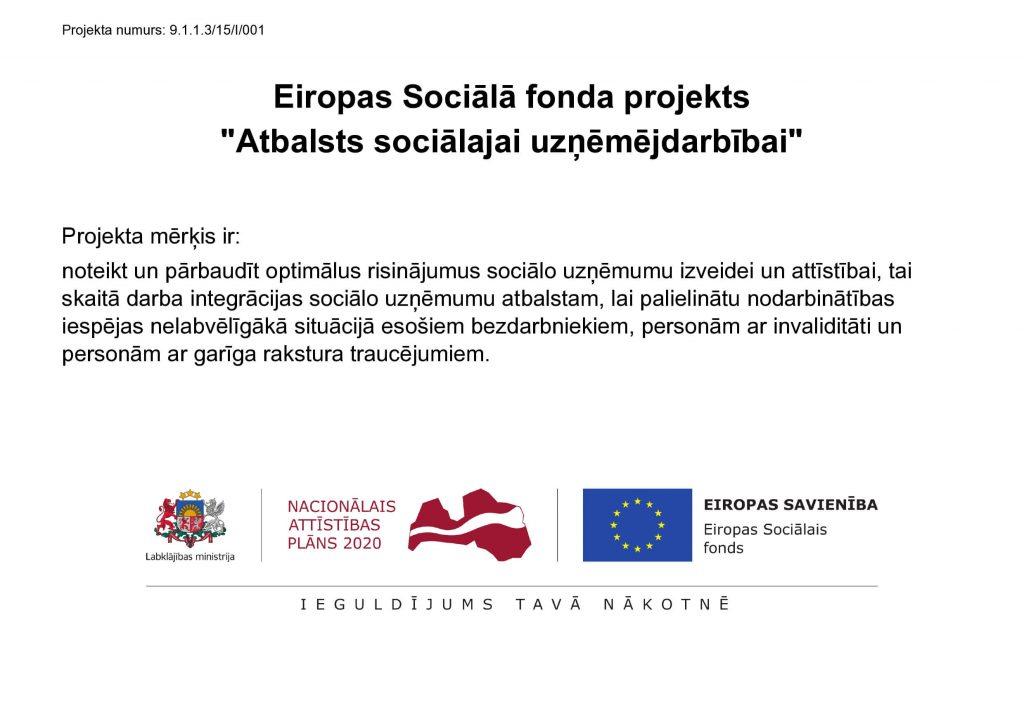 ESF un LM vizualizācija makets